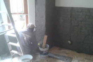 Cementitious Slurry - Damp Proofing Specialists in Cape Town.